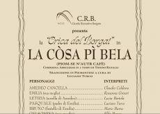 """La Guida - """"La Crica del Borgat"""" torna a Passatore e sabato sera si ride"""