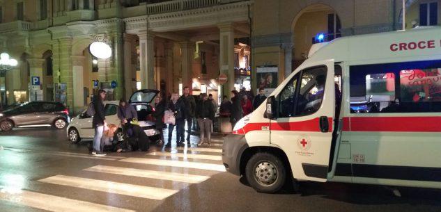 La Guida - Persona investita in corso Nizza all'angolo con via Statuto