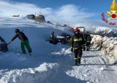 La Guida - Bufera di neve e vento a Bagnolo, in salvo sessanta persone