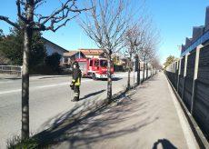 La Guida - Fuga di gas a Borgo, via Po bloccata