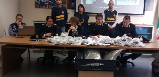 La Guida - Cinque arresti e maxi sequestro di droga