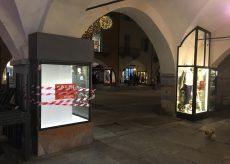 La Guida - Furto notturno in una vetrina nel centro storico di Cuneo