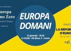 """La Guida - A La Guida l'incontro """"Europa domani"""""""