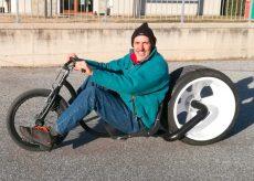 La Guida - In mostra alla Provincia le biciclette di Gianpy