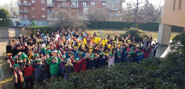La Guida - Flashmob alla scuola primaria Lidia Rolfi