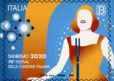 La Guida - Un francobollo per celebrare la 70ª edizione del Festival di Sanremo