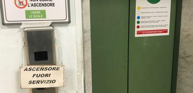 La Guida - Ascensori fuori uso all'ospedale di Cuneo da otto giorni