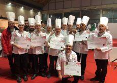 La Guida - Il Team Cuochi Cuneo-Piemonte vince i Campionati della cucina italiana