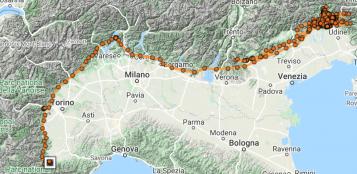 La Guida - Il lungo volo del grifone dal Friuli ad Andonno