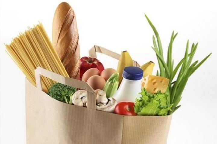 sacchetto della spesa alimentare