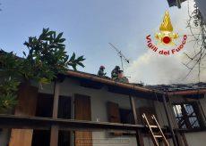 La Guida - Incendio in due abitazioni vicine a Barge