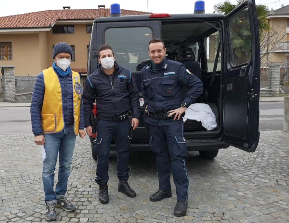 Mascherine alla Polizia Penitenziaria