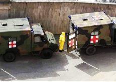 La Guida - All'ospedale di Saluzzo arrivano le ambulanze dell'Esercito