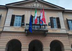 La Guida - A Peveragno la bandiera europea rimane a mezz'asta