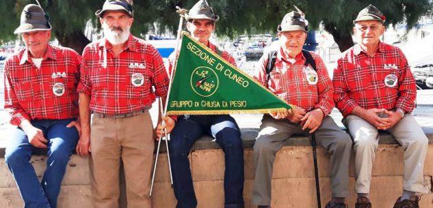 La Guida - Chiusa Pesio, gli Alpini donano 1000 euro alla Casa di Riposo La Meridiana