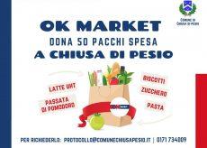 La Guida - Borse solidali dall'Ok Market di Chiusa Pesio
