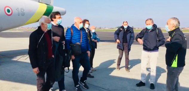 La Guida - Un medico dall'Aeronautica e un infermiere della Marina a Cuneo