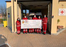 La Guida - Donati 1.000 euro alla Croce Rossa di Busca
