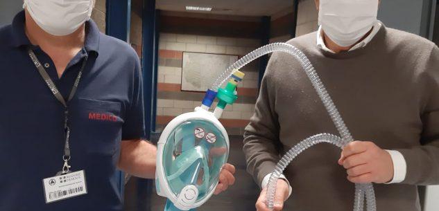 La Guida - Maschere da snorkeling riadattate per terapie respiratorie