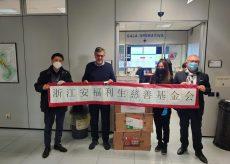 La Guida - Dieci nuovi ventilatori polmonari dalla comunità cinese