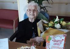 La Guida - A Dogliani si festeggiano i 106 anni di Tina