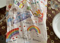 La Guida - Nelle panetterie cuneesi sacchetti colorati con i disegni dei bambini