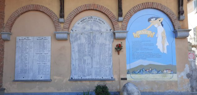 La Guida - 25 Aprile, una cerimonia in piazzetta della Pace a Cervasca