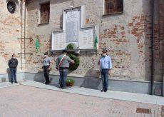 La Guida - L'anniversario della Liberazione  a Castelletto Stura
