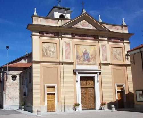Castelletto Stura - La chiesa parrocchiale