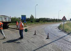 La Guida - Lavori di bitumatura su tutte le strade provinciali