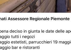 """La Guida - L'assessore: """"Estetisti aperti dal 18 maggio e parrucchieri dal 19"""". La Regione: """"Non c'è ancora niente di ufficiale"""""""