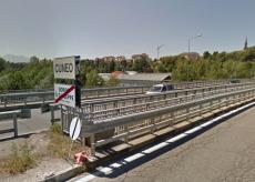 La Guida - Lavori di asfaltatura all'ingresso di Cuneo da Borgo San Giuseppe