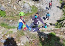 La Guida - Doppio intervento del Soccorso Alpino in valle Gesso