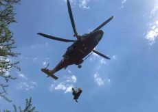 La Guida - Escursionista cade in una scarpata nella zona del Valasco