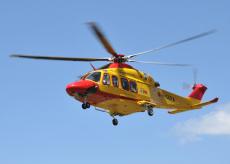 La Guida - Sospetta frattura a un braccio mentre è in quota, raggiunto e salvato
