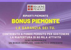 La Guida - Bonus Piemonte: in tre giorni erogati 30 milioni di euro