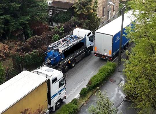 Verzuolo - Traffico pesante