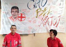 """La Guida - La Croce Rossa di Mondovì saluta Vincenzo """"Censino"""" Beccaria"""