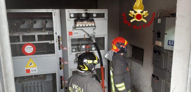La Guida - Incendio in una cabina elettrica
