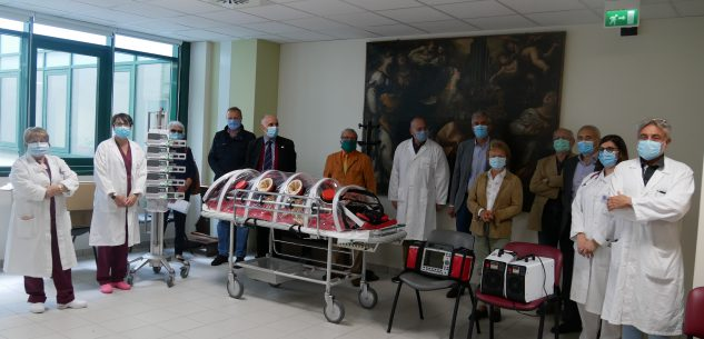 La Guida - Dagli Amici della Sanità per il Sud Ovest della provincia di Cuneo donazioni all'ospedale di Mondovì