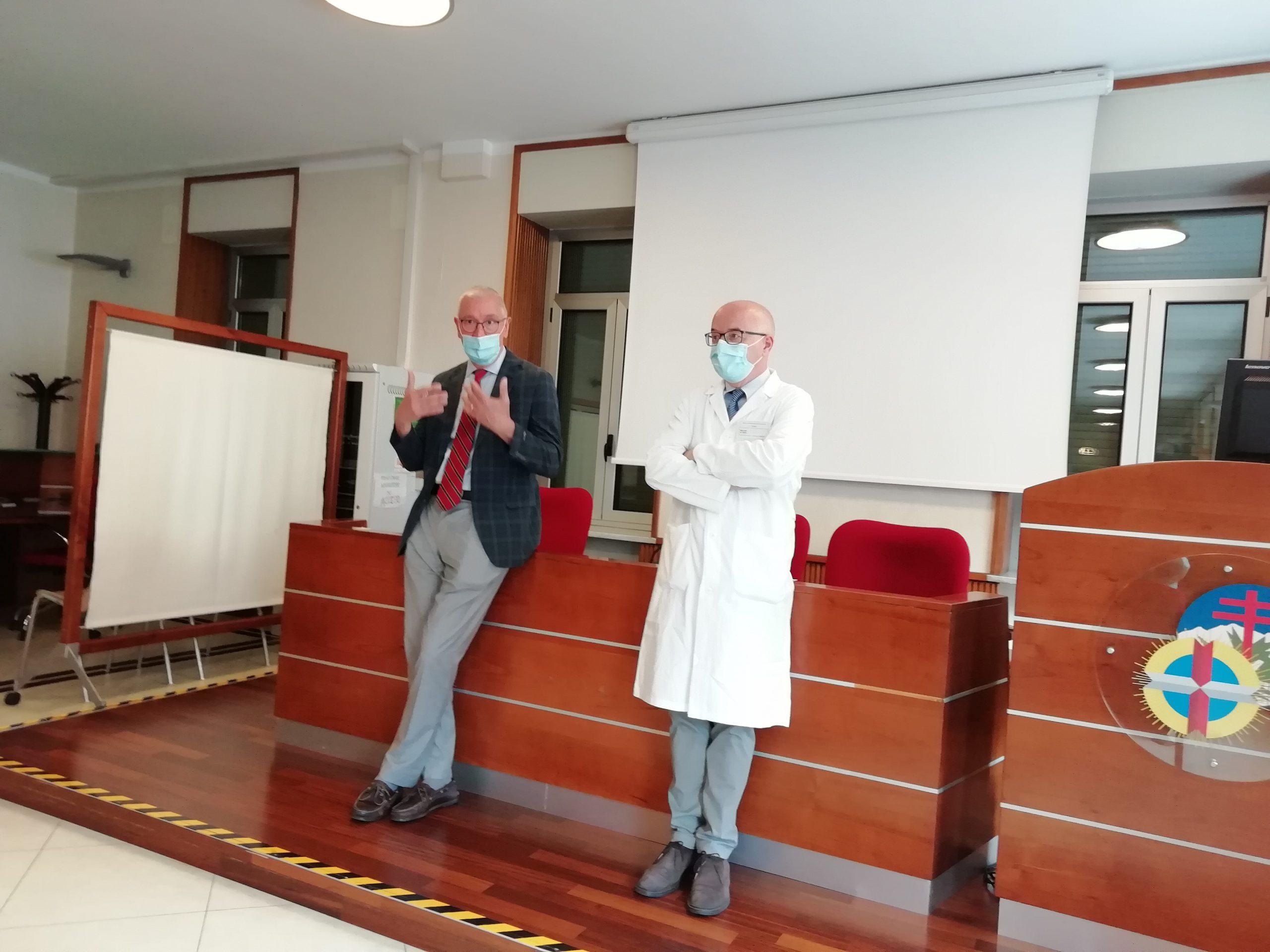 Dr. Giulio Melloni e dr. Alessandro Garibaldi