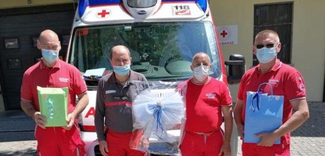 La Guida - Bimbo nasce sull'ambulanza della Croce Rossa di Barge