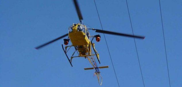 La Guida - Parte dal cielo il controllo delle linee elettriche di e-distribuzione in Provincia