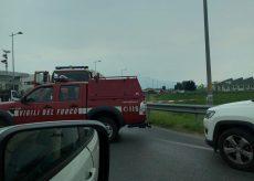 La Guida - Fuga di gas a San Defendente di Cervasca, strada chiusa