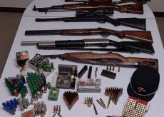 La Guida - A Piozzo scoperte armi e munizioni abusivamente detenute a bordo di automezzi