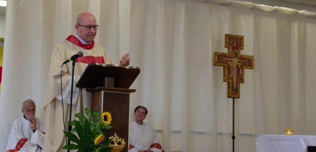 La Guida - Don Andrea Ciartano è il nuovo parroco di Centallo e Mellea