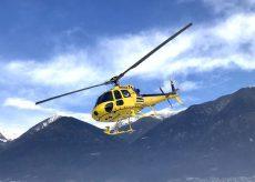 La Guida - Manutenzione Enel con l'elicottero
