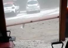 La Guida - Fiume di grandine e pioggia a San Pietro di Monterosso (video)