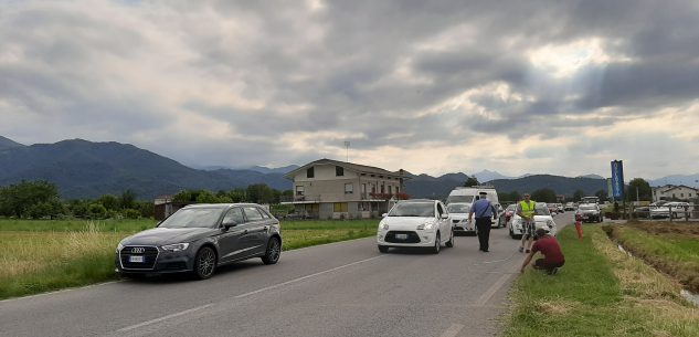 La Guida - Maxi tamponamento a Boves in via Peveragno
