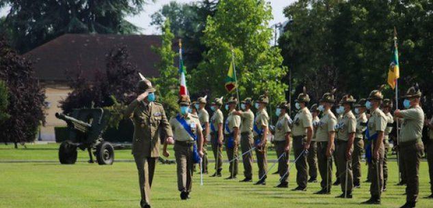La Guida - Nuovo comandante al 1° Reggimento Artiglieria Terrestre di Fossano